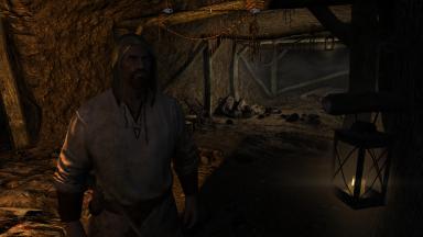 Leif Ragnarsson at work in Iron-Breaker Mine