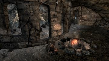 Leif Camping at Windward Ruins